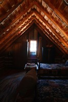 The Log Cabin loft at Blisswood Ranch